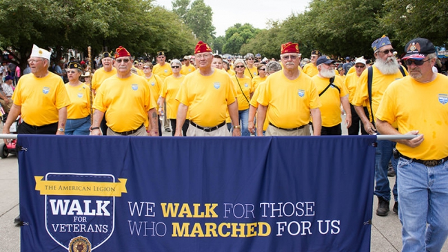 Iowa Walk for Veterans: 'A capstone of a great year'