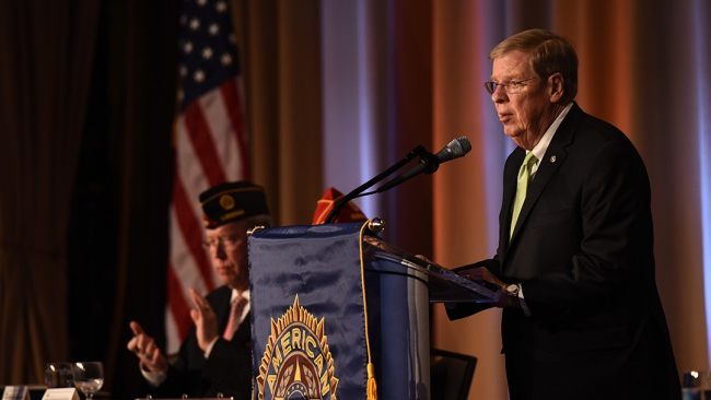 Isakson addresses VA reform, PTSD treatments and ISIS