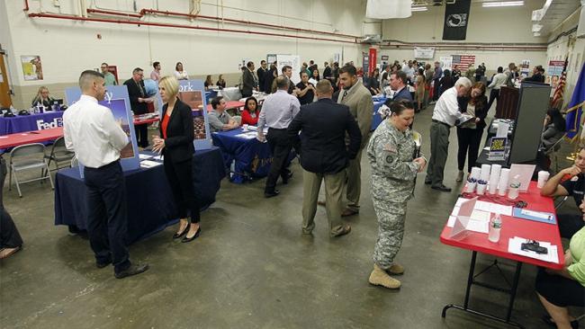 Rhode Island job fair needs more space