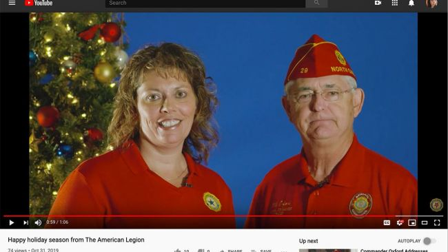 Oxford, Clapp extend holiday greetings in new PSA