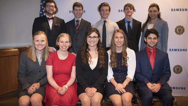 Samsung American Legion scholars have challenges ahead