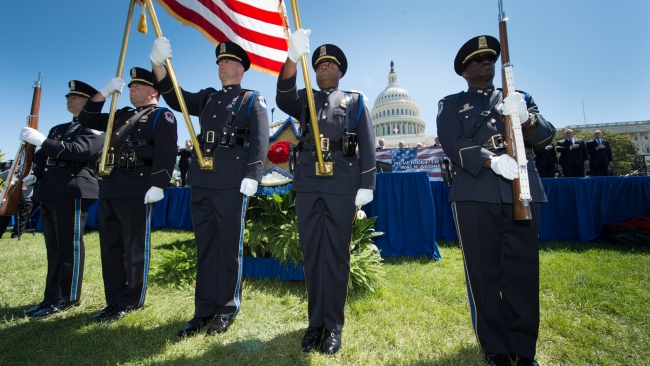 National commander recognizes Peace Officers Memorial Day