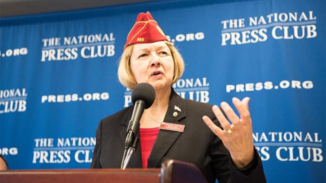 National Commander Rohan guest speaks as NPC Headliners Newsmaker