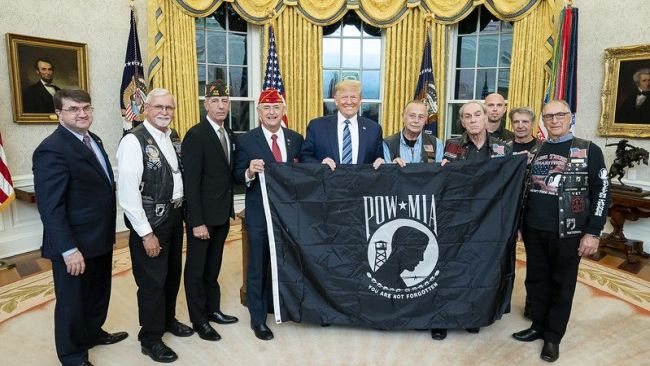 American Legion welcomes president's signing of POW/MIA Flag Act