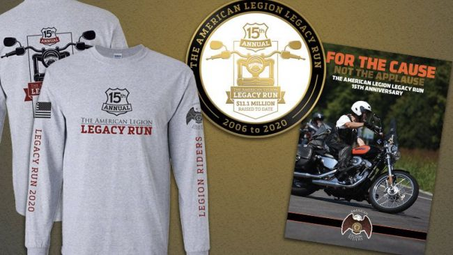 Legacy Run souvenirs available in mid-October