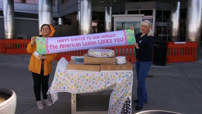 Pennsylvania Legionnaires bring Easter to VA facility's veterans