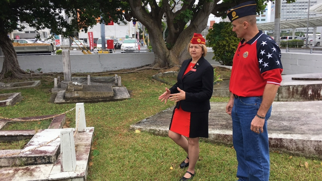 Commander brings Legion Family message throughout Far East