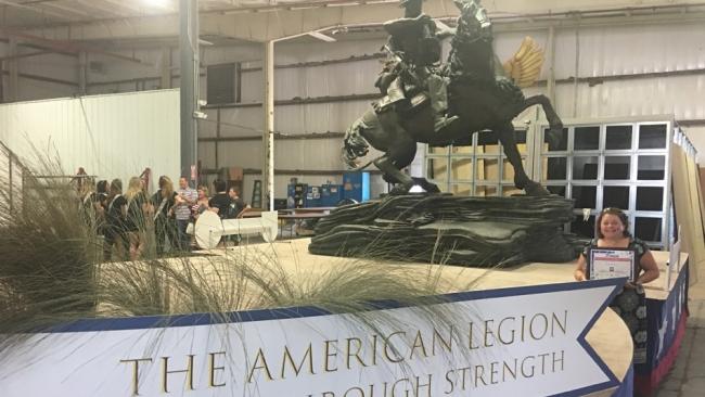 American Legion float wins 500 Festival Parade award