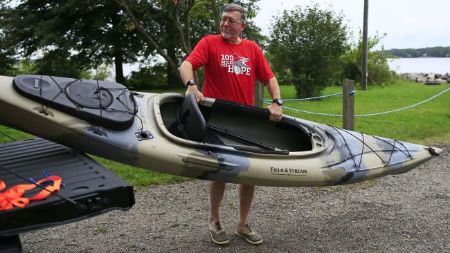 100 miles, one kayak paddle at a time