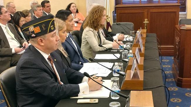 Legion testifies on veterans health, benefits legislation