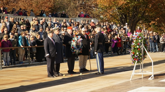 National commander honors service and sacrifice in visit to Arlington