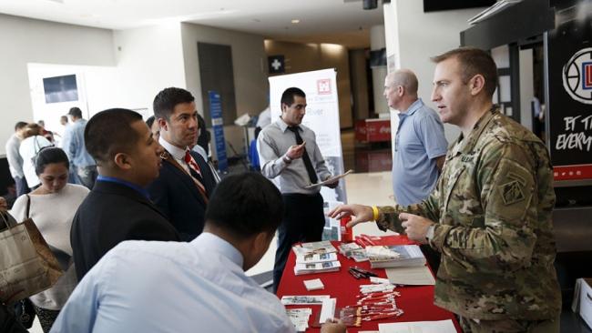 Job fair creates environment for success