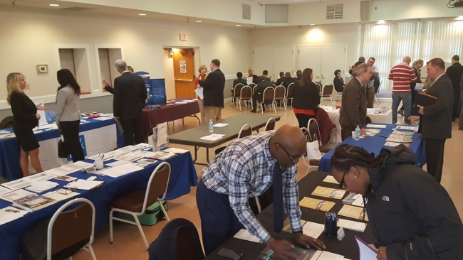 Virgina Legion post hosts job fair