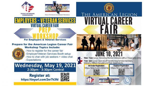 Texas-focused virtual career fair set for June 10
