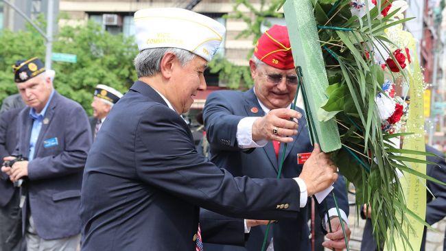 Memorial honoring Chinese American veterans being considered for NYC landmark status