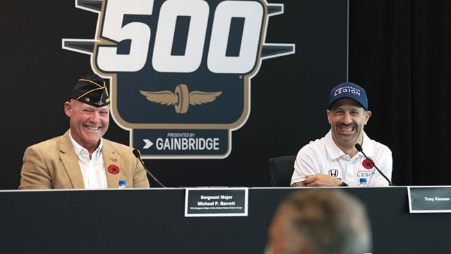 American Legion, Chip Ganassi Racing announce effort to address, reduce veteran suicide