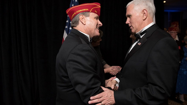 Veterans Inaugural Ball salutes Medal of Honor recipients, veterans, servicemembers