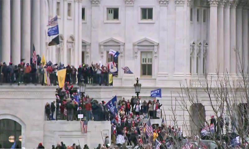 American Legion condemns violence in U.S. Capitol
