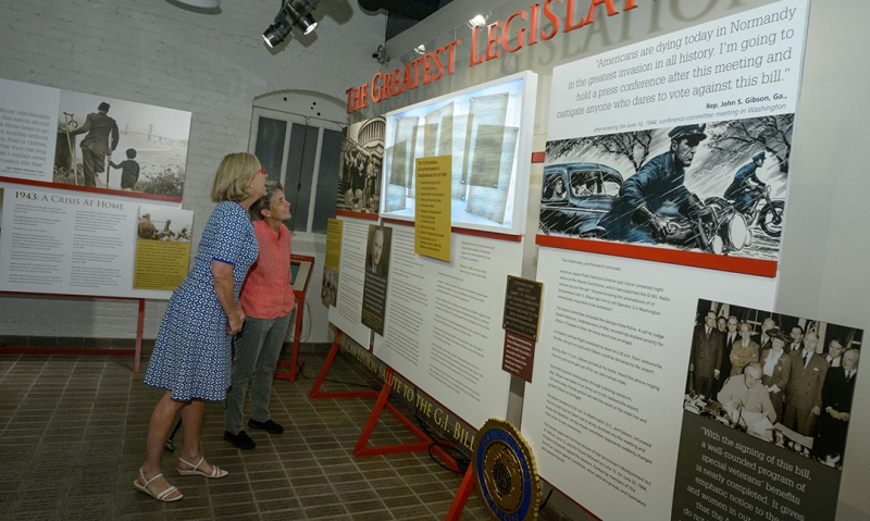 Bob Hope Patriotic Hall welcomes American Legion GI Bill exhibit