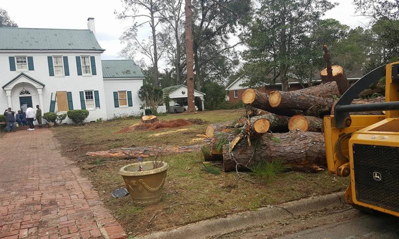 Legion assessing damage in storm-ravaged Georgia