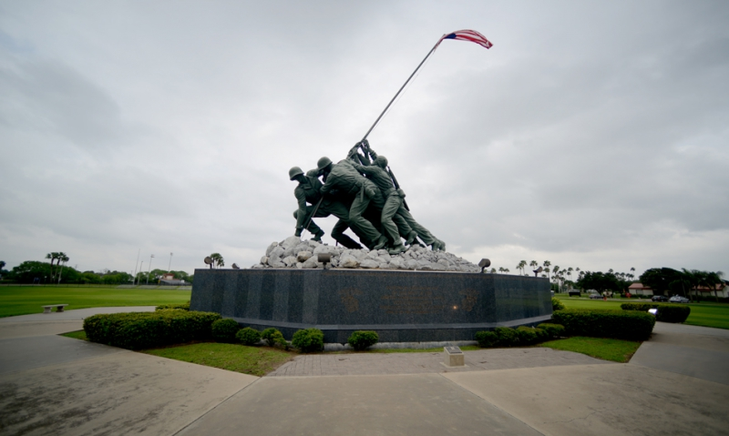 Original Iwo Jima mold stands tall in Texas