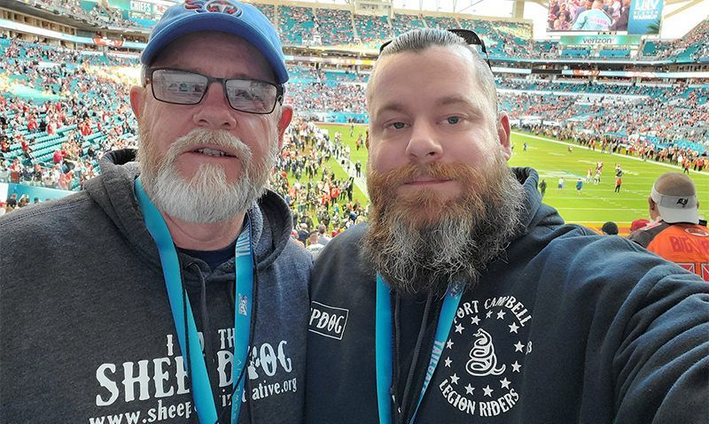 Legionnaires enjoy 'once-in-a-lifetime opportunity' at Super Bowl