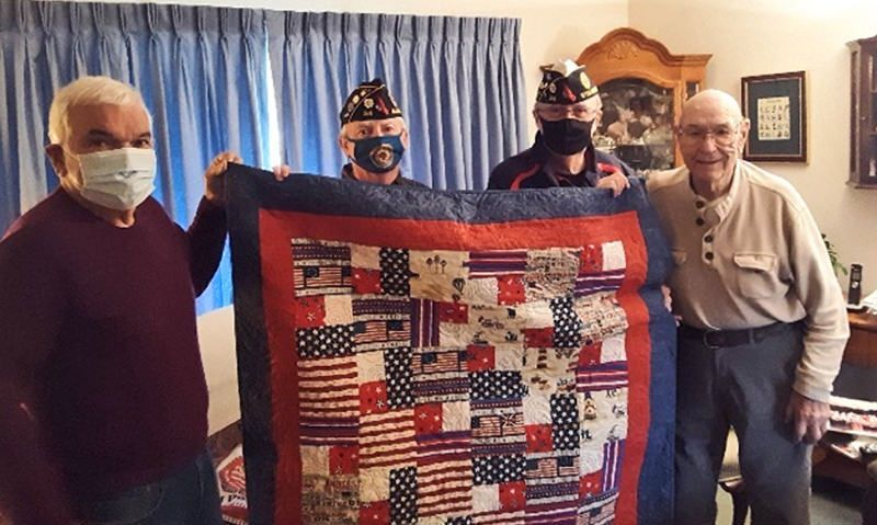 Buddy Check brings birthday cheer to WWII veteran
