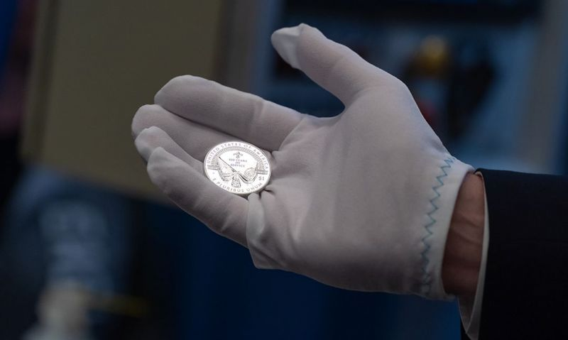 Commemorative coin, record month of giving atop February report