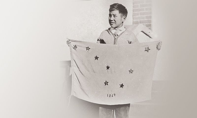 Alaska Legion post played role in development of state flag