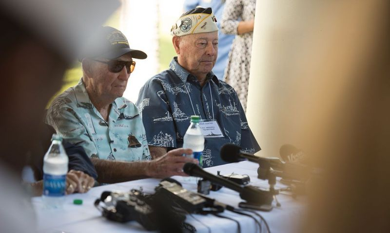 Only two USS Arizona survivors remain