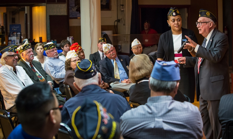 LA vets air array of concerns about VA care at Legion Town Hall Meeting