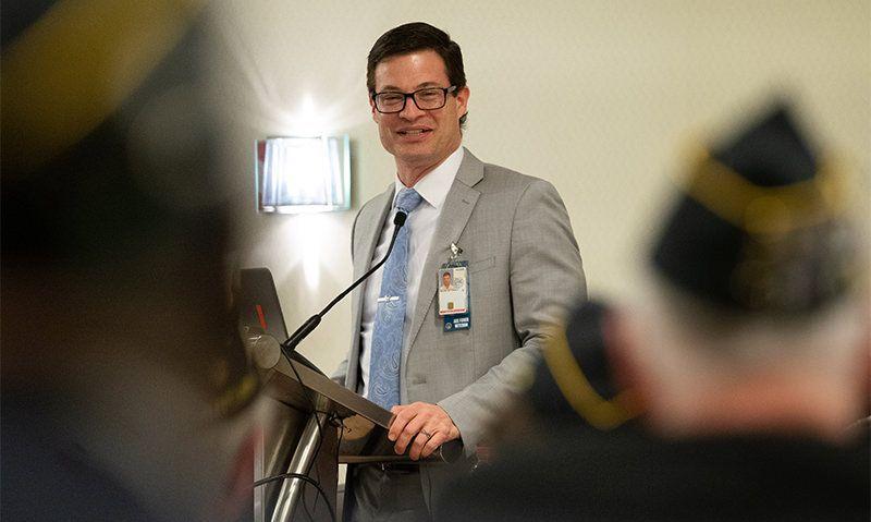 VA's top health official urges caution during coronavirus outbreak