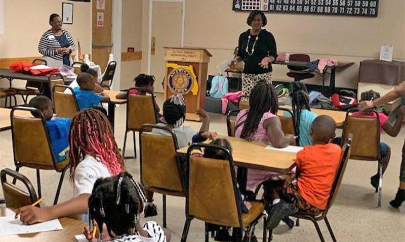Florida post still serving through after-school program