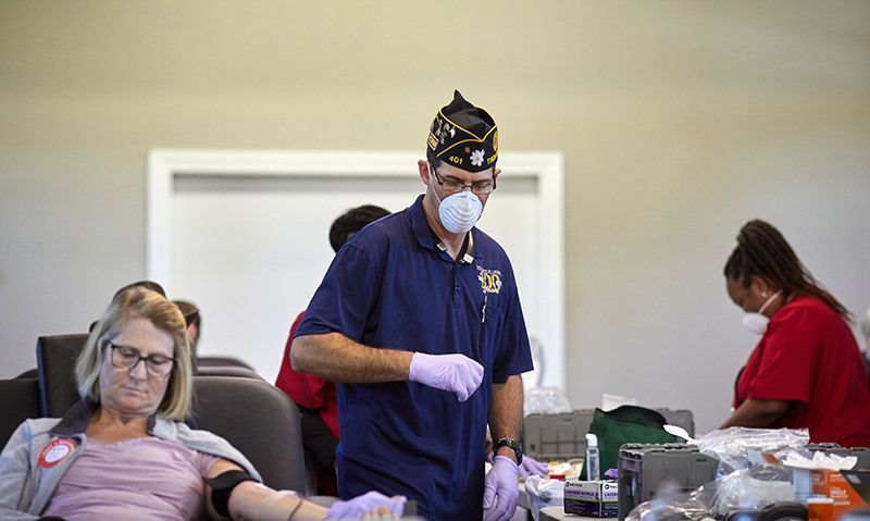 N.C. post's first blood drive 'amazingly successful'