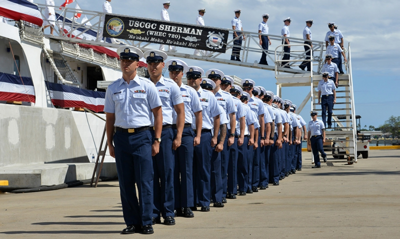 Coast Guard retires cutter Sherman after long storied legacy