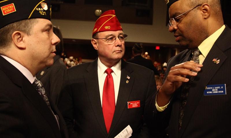 National commander meeting with president, VA secretary