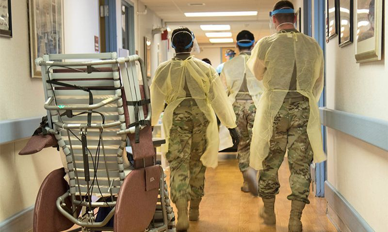 Lack of data hinders COVID response in state veterans' homes