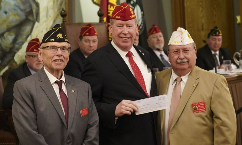 Spring Meeting donations surpass $1.2 million for Legion programs