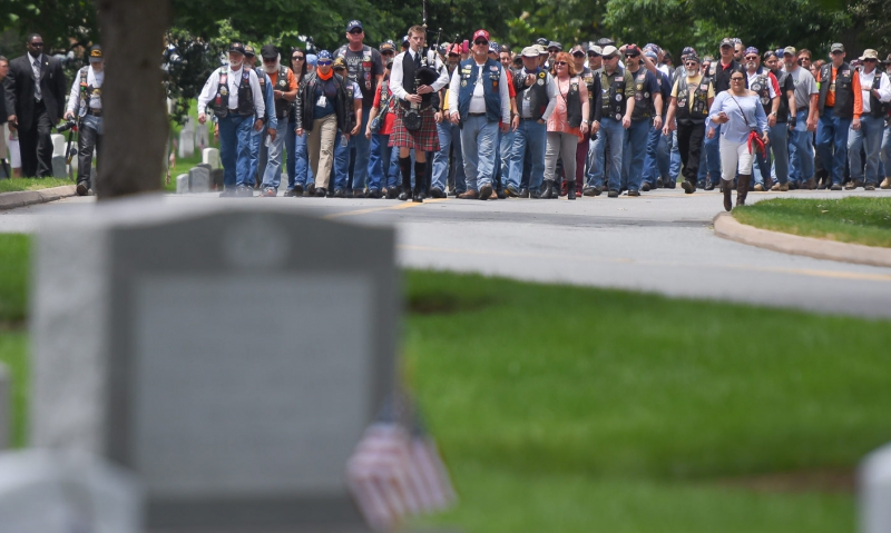 Legion Riders commemorate Civil War unknowns