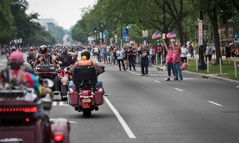 Rolling Thunder: 'It was overwhelming'
