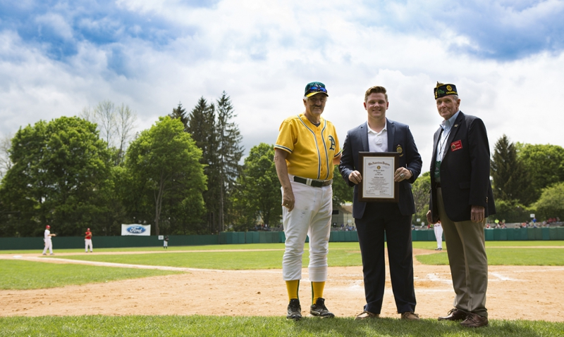 Legion Player of the Year honored at Baseball Hall of Fame