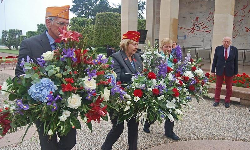 Legion Family remembers the sacrifices of Normandy
