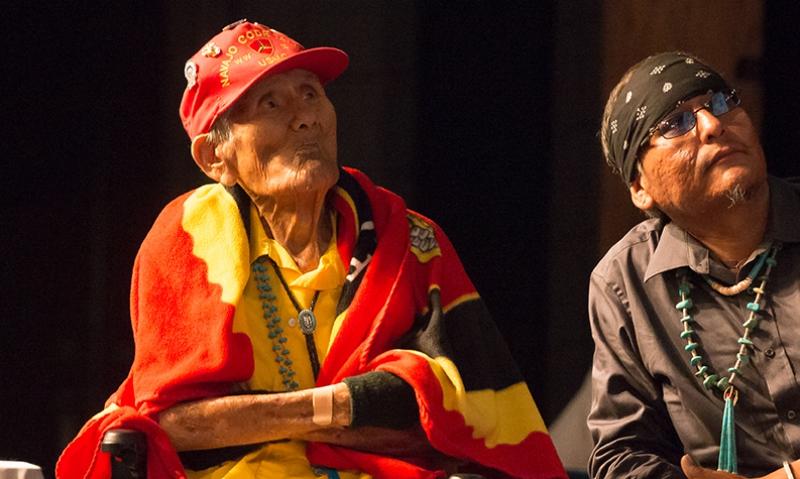 Navajo Code Talker dies at 93