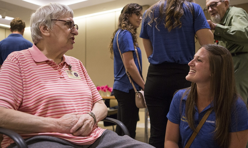 Legion scholars meet heroes who 'gave way to our freedom'