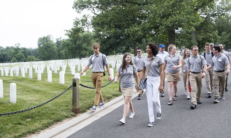 Recognition of service, sacrifice at the forefront of scholars visit to DC