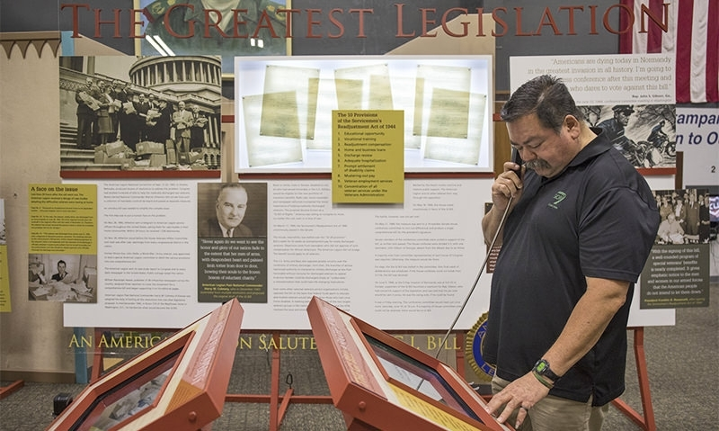 GI Bill exhibit headed to George H.W. Bush Library