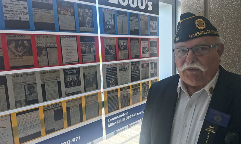 Centennial post takes its story on tour