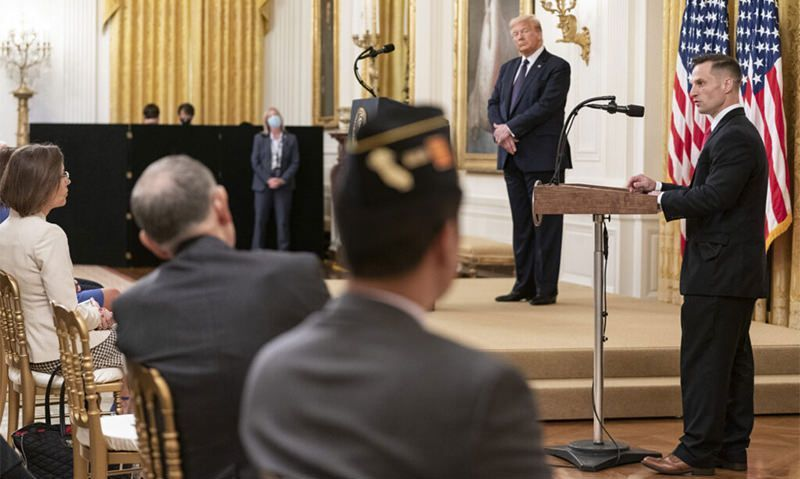 Trump unveils 'bold' plan to prevent veteran suicide, but critics say it's not enough
