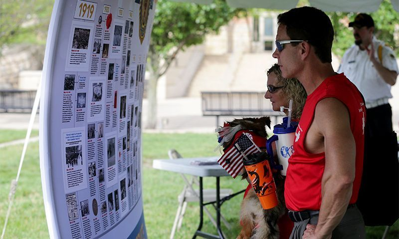 Showcasing 'the many faces' of The American Legion
