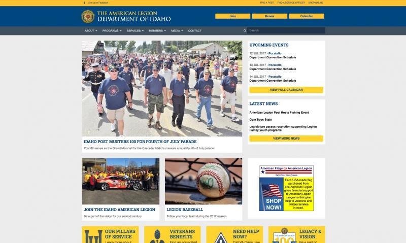 Department Spotlight: Idaho creates website that mirrors national's